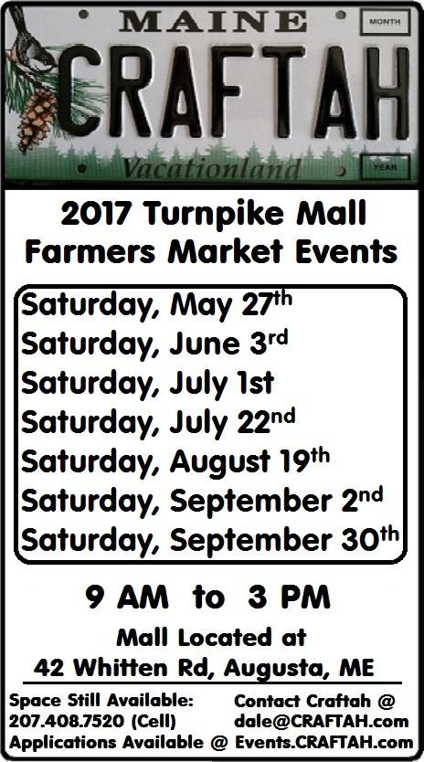 Turnpike Mall Farmer's Market Craft Fairs