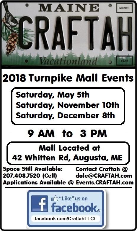 Turnpike Mall Augusta Craft Fairs